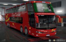 Marcopolo Paradiso G6 DD 8X2 for Euro Truck Simulator 2