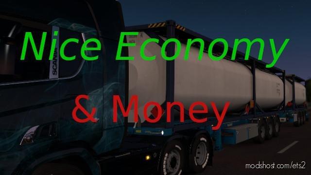 Economy & Money Mod [1.36.X] for Euro Truck Simulator 2