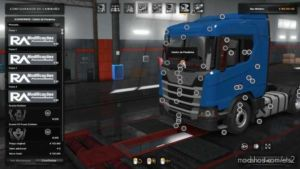 Addon Brasil Parts Next Generation Scania P G R S Series [1.36.X] for Euro Truck Simulator 2