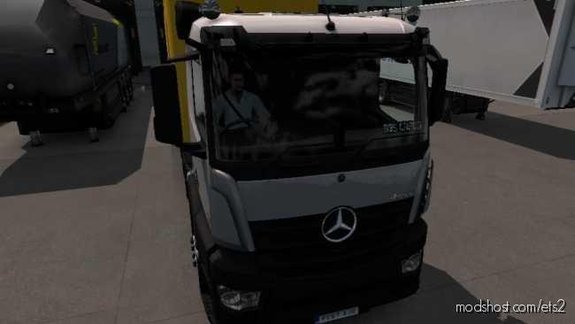 D3S Mercedes Antos 12 R1.36.2X for Euro Truck Simulator 2