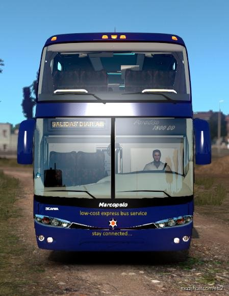 Marcopolo G6 1200 DD Megabus [1.35 – 1.36] for Euro Truck Simulator 2