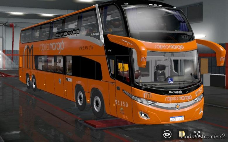 Volvo Marcopolo Paradiso NEW G7 [1.36.X] for Euro Truck Simulator 2