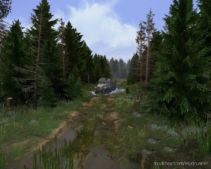 """After The Rain"" OR ""Black Lumberjacks"" Map for MudRunner"