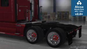 Alcoa Huge Wheels Pack ATS [1.36.X] for American Truck Simulator