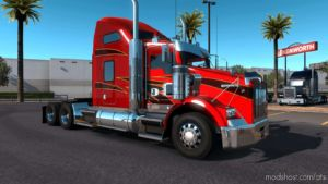 Kenworth T800 2016 Truck [1.36] V1.1 for American Truck Simulator