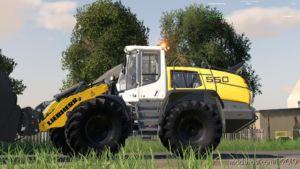 Liebherr 550 Xpower for Farming Simulator 2019