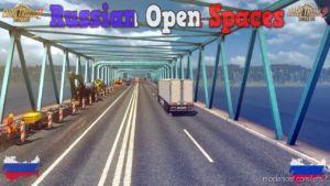Russian Open Spaces V7.7 -AIO- [1.36.X] for Euro Truck Simulator 2