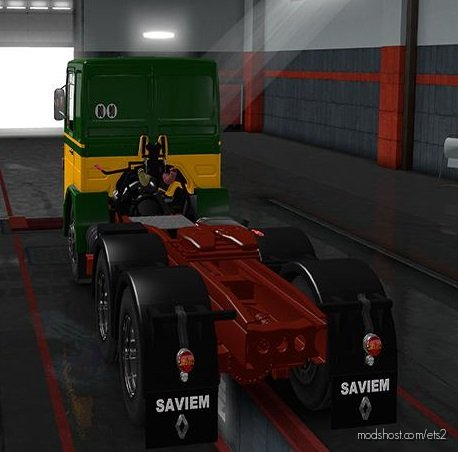 Renault Saviem (Roman) [1.36.X] for Euro Truck Simulator 2