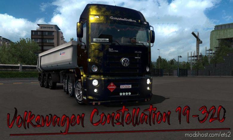 VW Constellation 19-320 V3.8 [1.36.X] for Euro Truck Simulator 2