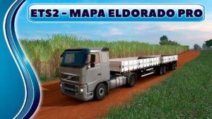 Mapa Eldorado PRO V1.7.3 for Euro Truck Simulator 2