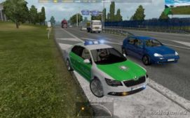 Skoda German Police [1.36] for Euro Truck Simulator 2