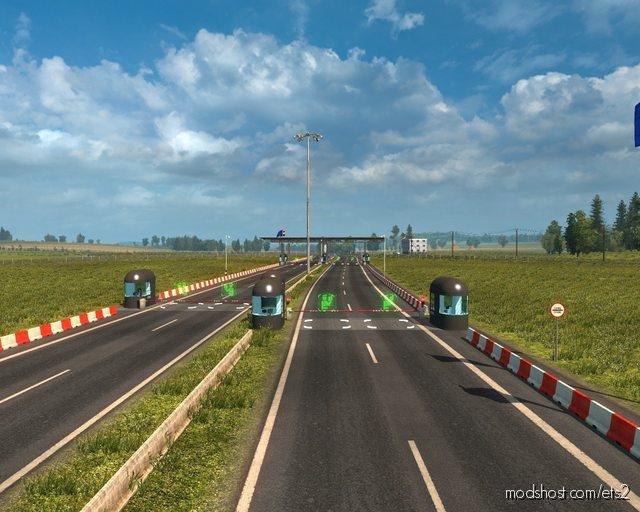 Promods + Rusmap + PL Rebuilding Road Connection [1.36] for Euro Truck Simulator 2