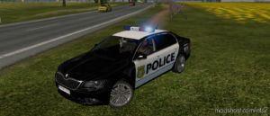 Skoda Superb V3.4 US Police [1.36] for Euro Truck Simulator 2