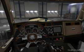 Interior Mod For Kenworth W900 Truck for American Truck Simulator