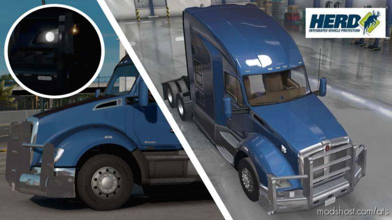 Herd Bumper – Kenworth T680 Truck for American Truck Simulator