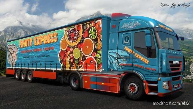 Fruity Express Combo Skin for Euro Truck Simulator 2