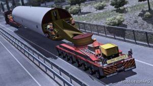 Mega Wind Tower Trailer (Oversize) for Euro Truck Simulator 2