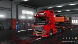 Hoggs Heavy Haulage Skin For Volvo 2012 for Euro Truck Simulator 2