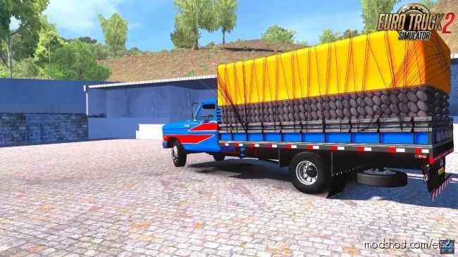 Ford F4000 + Interior [1.36.X] for Euro Truck Simulator 2