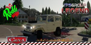 Toyota FJ40 Cream for Farming Simulator 2019