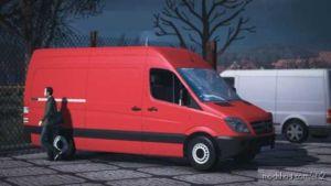 Mercedes Sprinter 2009 V1.8 for Euro Truck Simulator 2