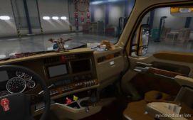 Interior Mod For Kenworth T680 Truck for American Truck Simulator