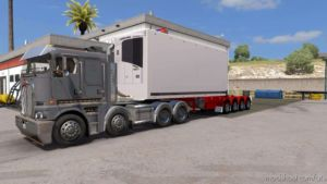 Vnzxt's Custom Mods Quad Fte's [1.36.X] Trailer for American Truck Simulator