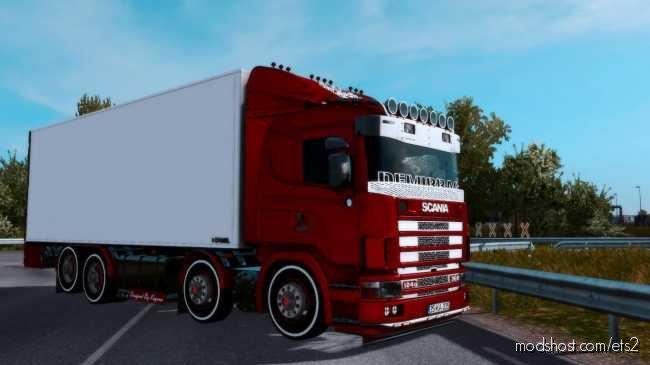 Scania 124G 360 [1.36.X] for Euro Truck Simulator 2