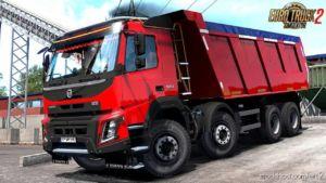 Volvo FMX Kipper Rework V1.2 By Mistersix (1.36.X) for Euro Truck Simulator 2