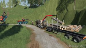 Fliegl LOG Trailer V3.0 for Farming Simulator 2019