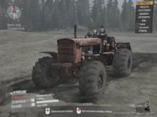 5 DT-75 Wheeled Tractor Updated for MudRunner