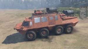GAZ-59037 Mod V23.02.20 for MudRunner