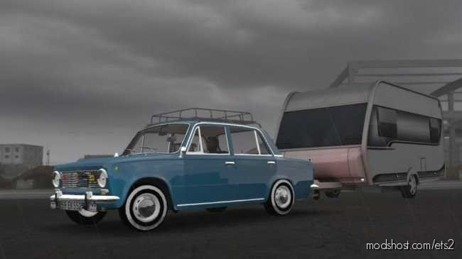 Fiat 124 V1R20 [1.36] for Euro Truck Simulator 2