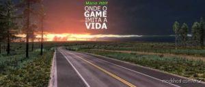 Mapa RBR Onde O Game Imita A Vida for Euro Truck Simulator 2