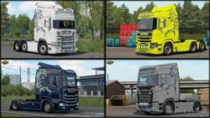 Scania S R Griffin Multicolor for Euro Truck Simulator 2