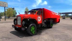 Texaco Skin Mod For Mack B62 for American Truck Simulator