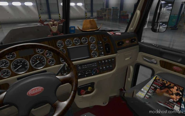 Interior For Peterbilt 389 for American Truck Simulator