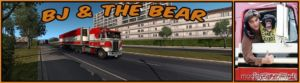 BJ And The Bear Truck Skin For Kenworth K100E ATS [1.36.X] for American Truck Simulator