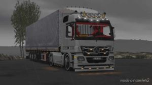 Mercedes Actros MP3 Custom Edit [1.36] for Euro Truck Simulator 2
