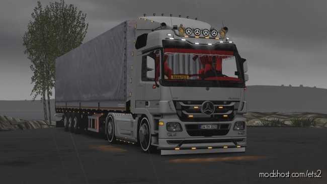 Mercedes Actros MP3 Custom Edit [1.36] for Euro Truck Simulator 2