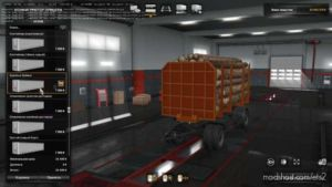 Nefaz Trailers 8332 For Kamaz Pack [1.36] for Euro Truck Simulator 2