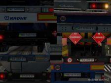 Fixed Ukrainian License Plates For Promods 2.43 for Euro Truck Simulator 2