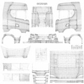 Complete Pack Of Truck & Trailer Templates V1.5 for Euro Truck Simulator 2