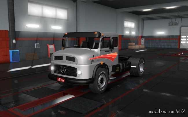 Mercedes-Benz 1519/1934 [1.36.X] for Euro Truck Simulator 2
