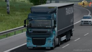 DAF XF 105 Reworked V2.6 By Schumi (1.36.X) for Euro Truck Simulator 2