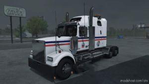 Chevron Skin For Western Star 4900FA Truck for American Truck Simulator