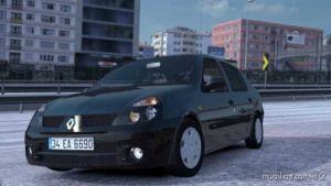 Renault Clio 2 V1R20 – [1.36] for Euro Truck Simulator 2