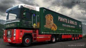 P White & Sons Combo Skin for Euro Truck Simulator 2