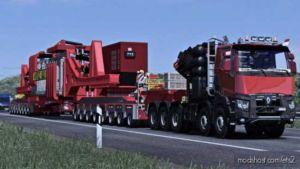 Mega Trafo Transport (Oversize) [1.36.X] for Euro Truck Simulator 2