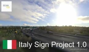 Italian Sign Project By Scan720 for Euro Truck Simulator 2